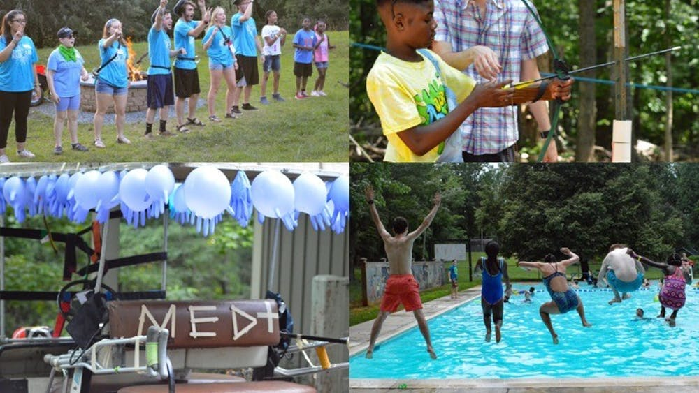 Camp Holiday Trails offered five sessions with a total of 250 kids and teens.