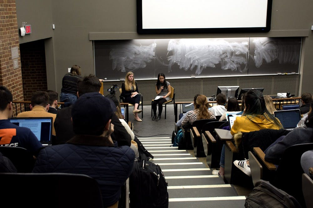 <p>The 2019 Student Council Presidential Debate hosted by The Cavalier Daily and University Board of Elections.</p>