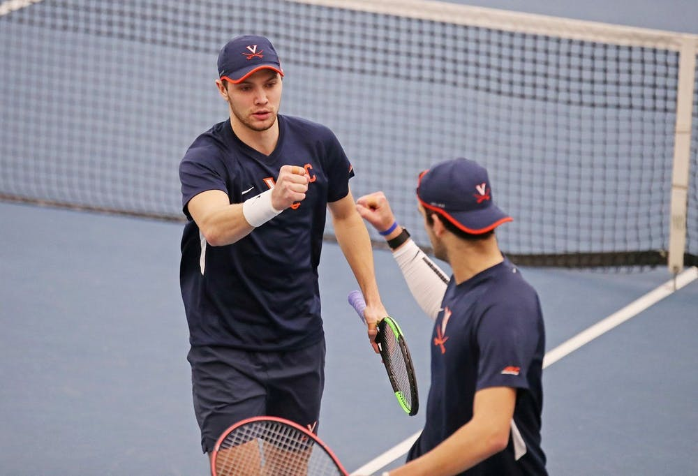 <p>The Cavaliers won two of the three doubles points of the weekend, but it was not enough to down the likes of North Carolina and Illinois.&nbsp;</p>