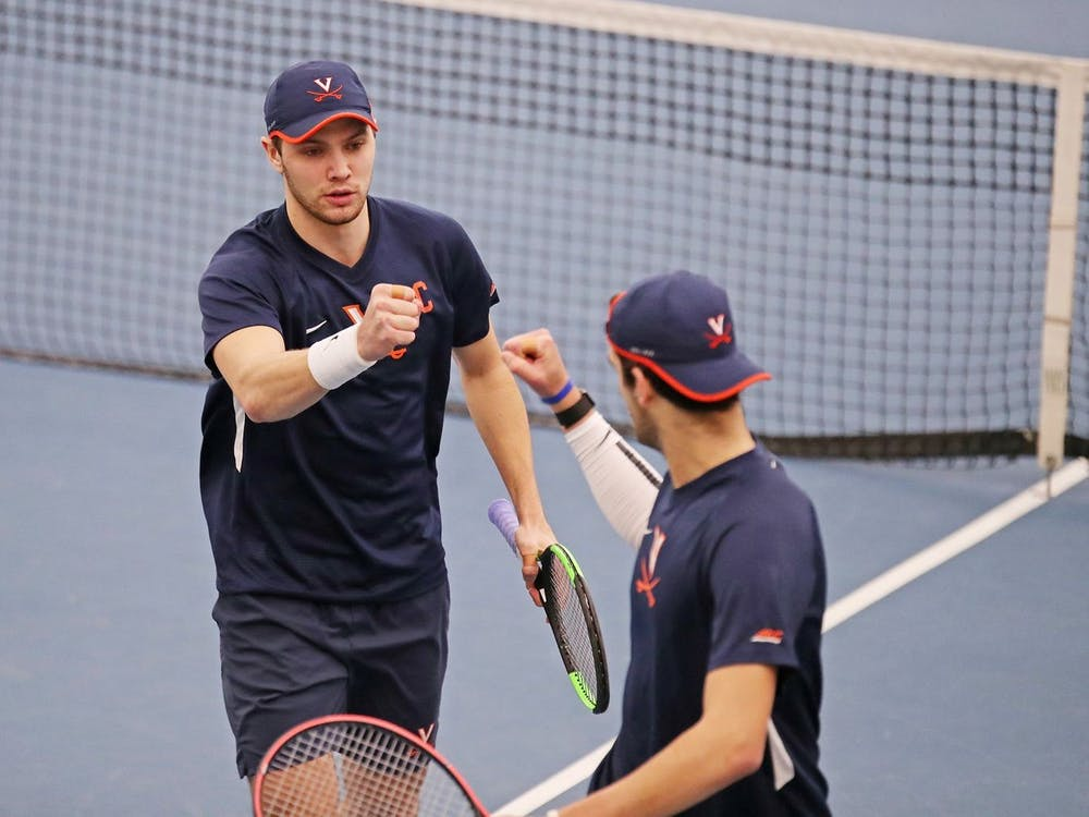 The Cavaliers won two of the three doubles points of the weekend, but it was not enough to down the likes of North Carolina and Illinois.
