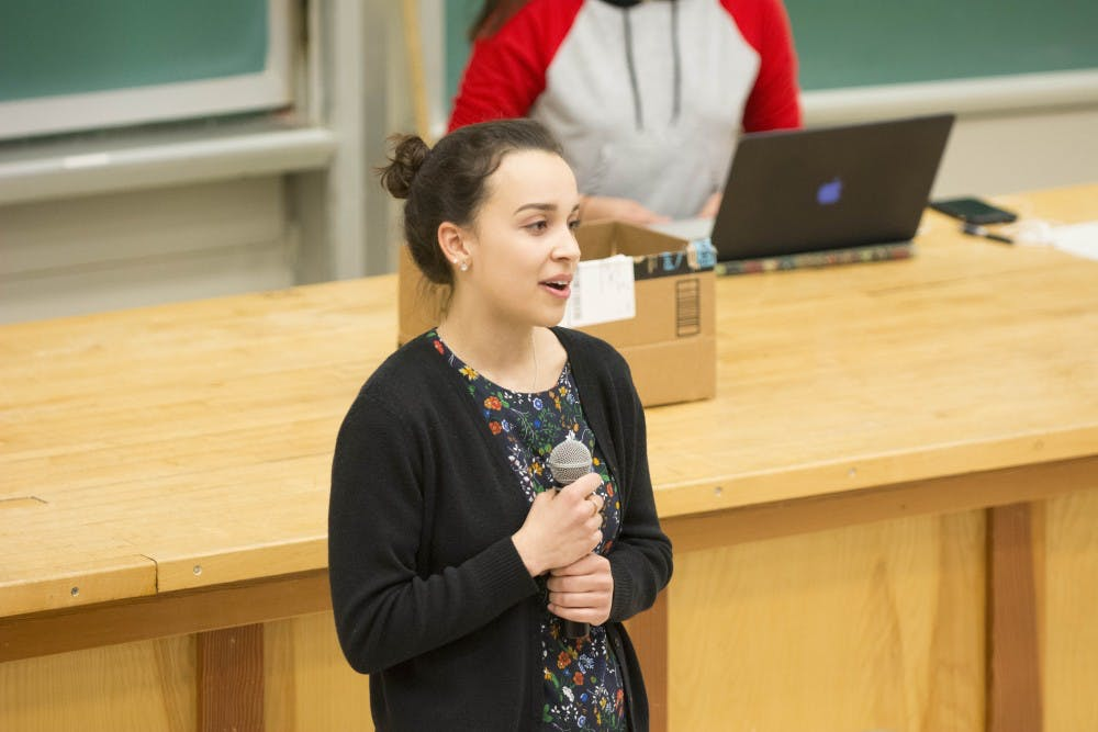<p>Kayla Dunn, a third-year College student, was elected president of the Latinx Student Alliance in the organization's first-ever series of elections.</p>