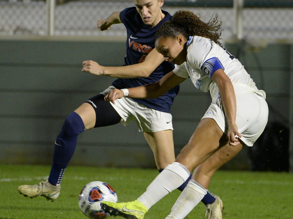 Despite an impressive performance by both teams, North Carolina capitalized on a penalty kick in the first half and iced Virginia with a second goal in the 79th minute to advance to the ACC Championship.