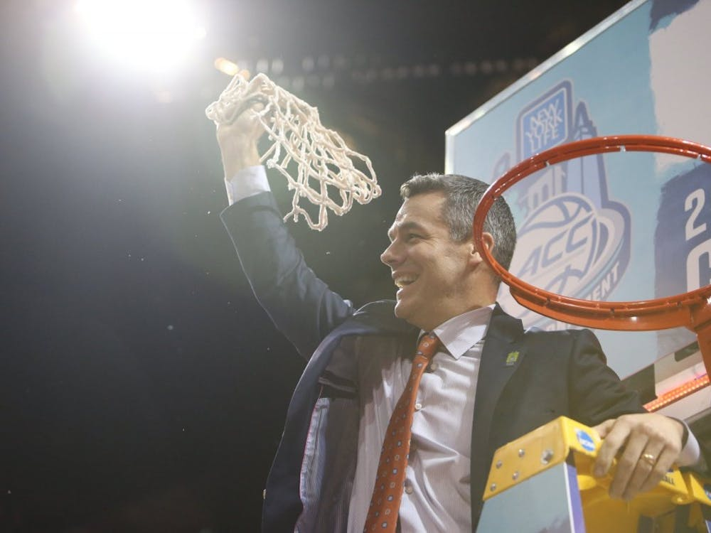 Virginia Coach Tony Bennett helped lead Virginia to its third ACC title in program history Saturday night.