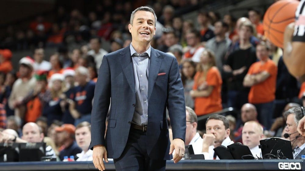 Beekman praised Virginia Coach Tony Bennett in announcing his commitment to Virginia.