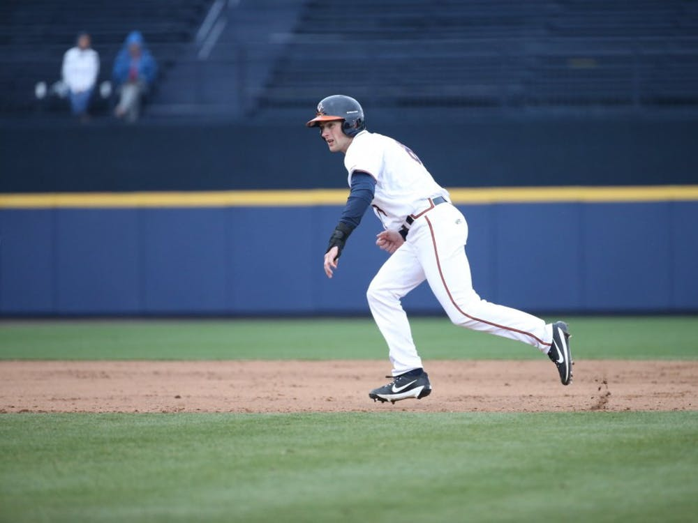 Sophomore left fielder Brendan Rivoli had two hits, scored two runs and drove in another against Old Dominion Tuesday afternoon.