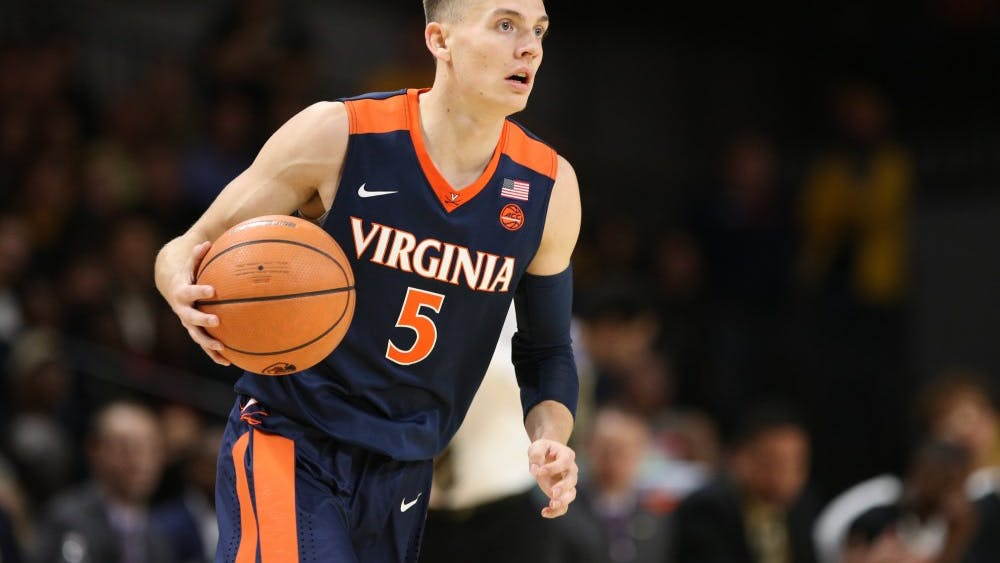 Sophomore guard Kyle Guy led Virginia past the Demon Deacons with 17 points and four assists.