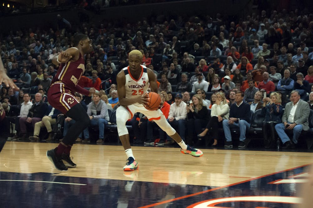 <p>Diakite was one of five Cavaliers to score in double figures against Boston College, finishing the game with 10 points.</p>