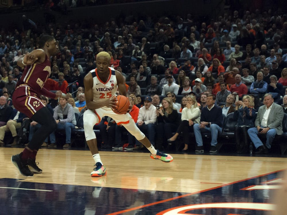Diakite was one of five Cavaliers to score in double figures against Boston College, finishing the game with 10 points.
