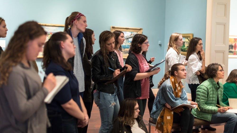 This year, the Fralin celebrates the 30th anniversary of its Student Docent program.