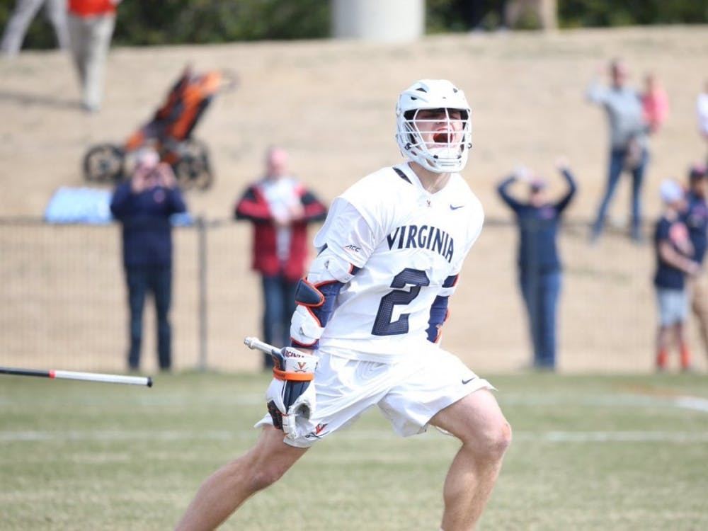 Junior attackman Michael Kraus scored five goals against Brown including the game-winner in overtime.