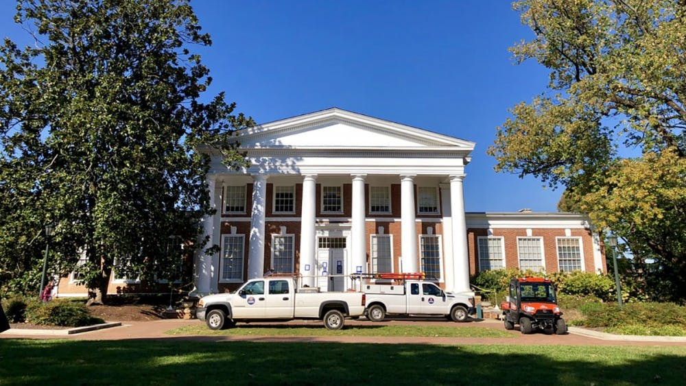 Peabody Hall is home to the University's admissions office.