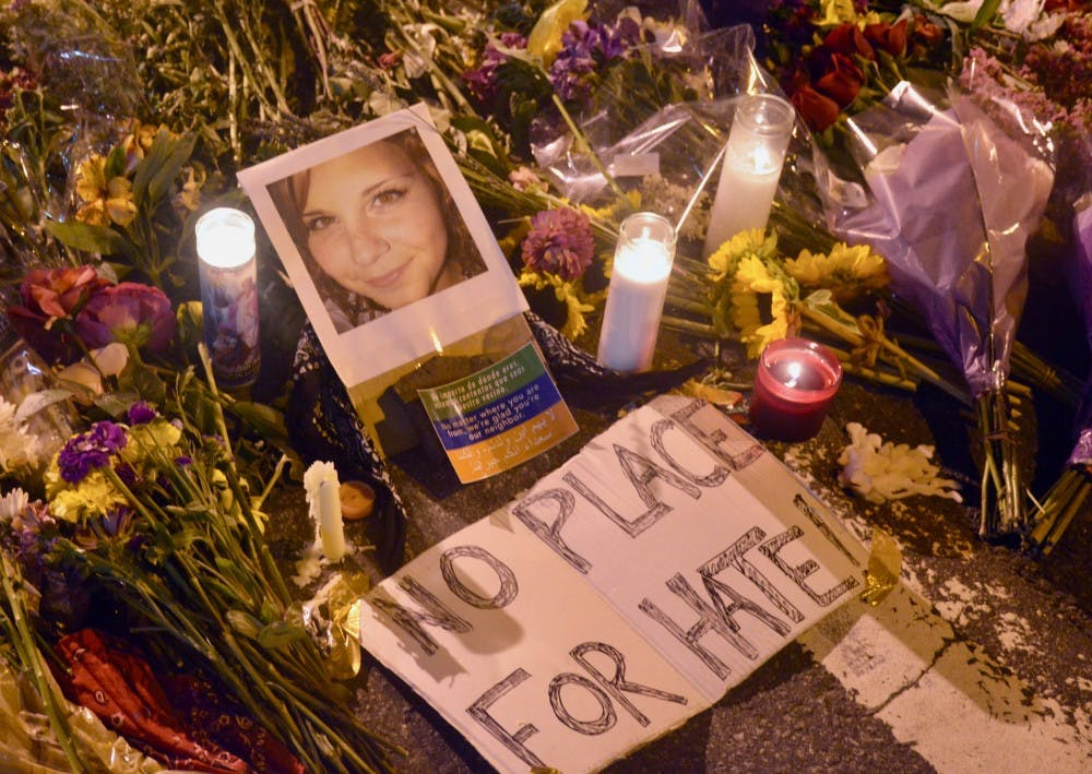 <p>Heather Heyer was killed when a car plowed through a crowd near the Charlottesville Downtown Mall Saturday.&nbsp;</p>