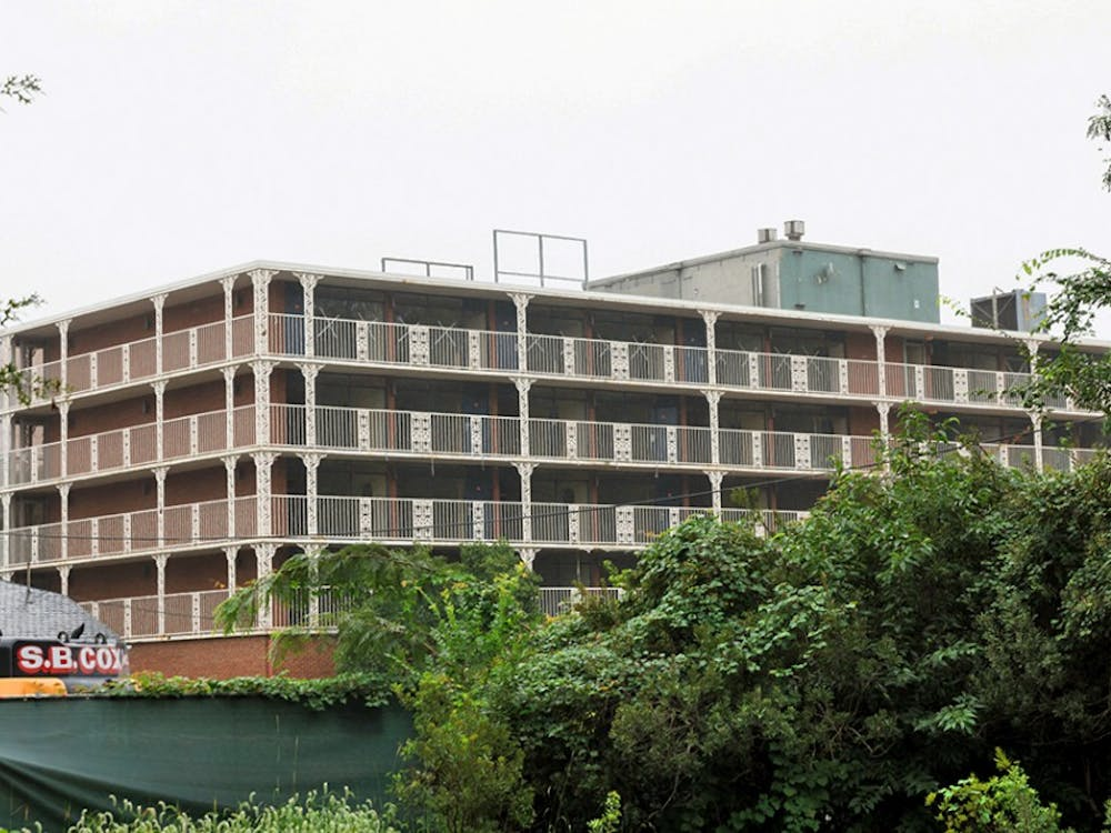 The Cavalier Inn is being demolished as part of the University's plans to redevelop the Ivy Corridor.