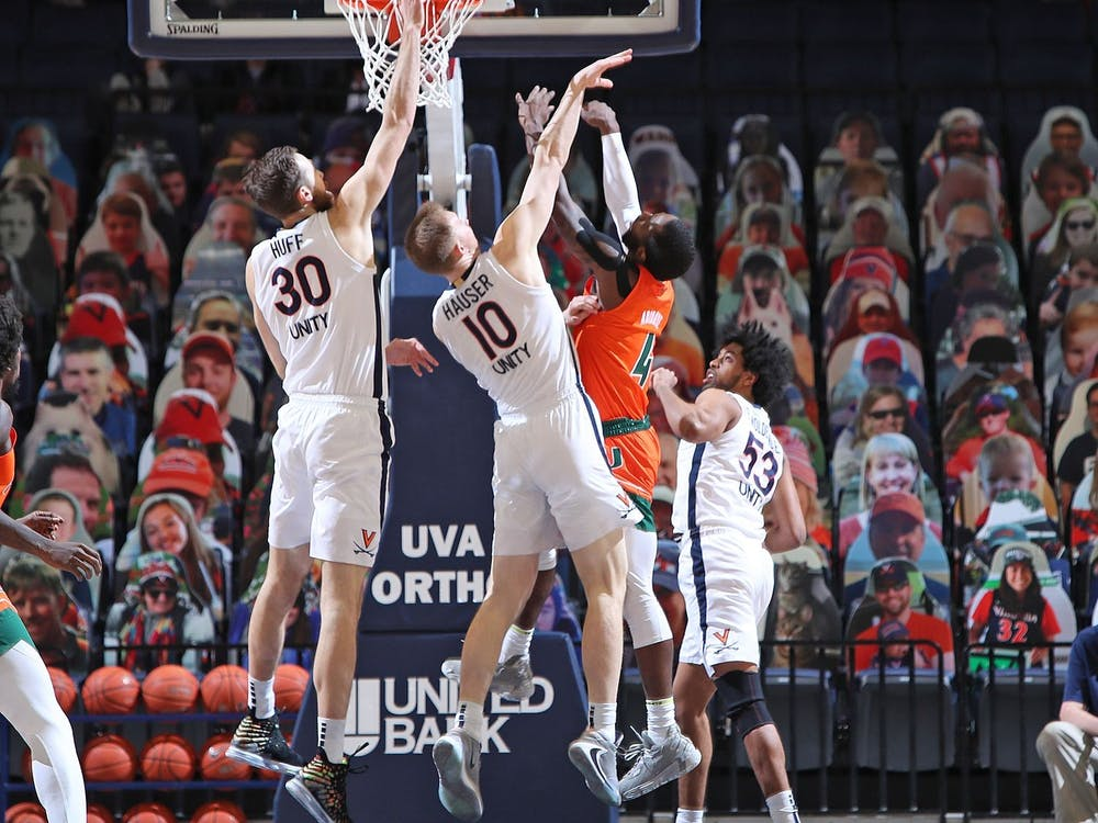 Senior forwards Jay Huff and Sam Hauser will certainly play a key role in Virginia's pursuit of a second national title.