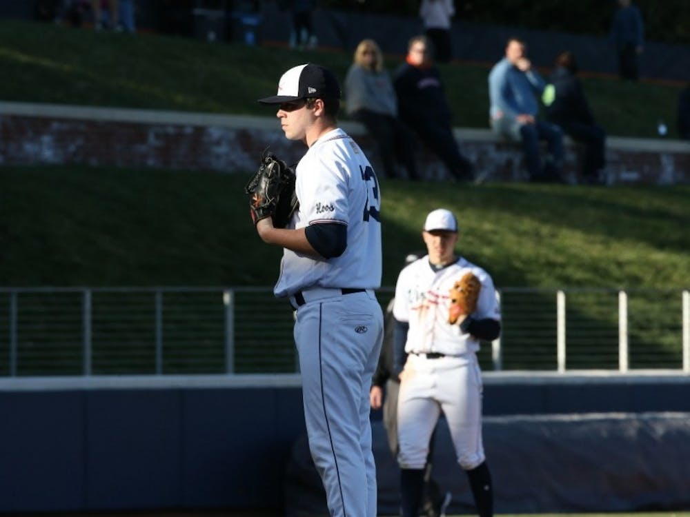 Senior right-handed pitcher Grant Donahue got the win on the mound for Virginia Wednesday against Richmond.
