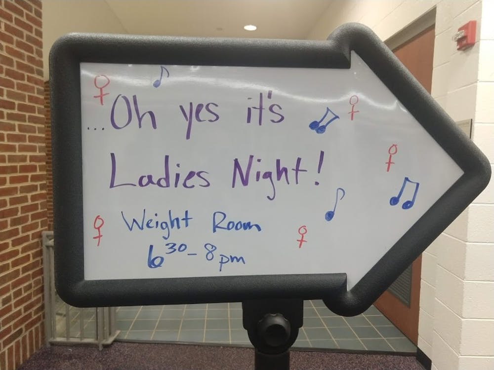 Over 200 students attended IM-Rec's Ladies Night, hosted at the AFC.