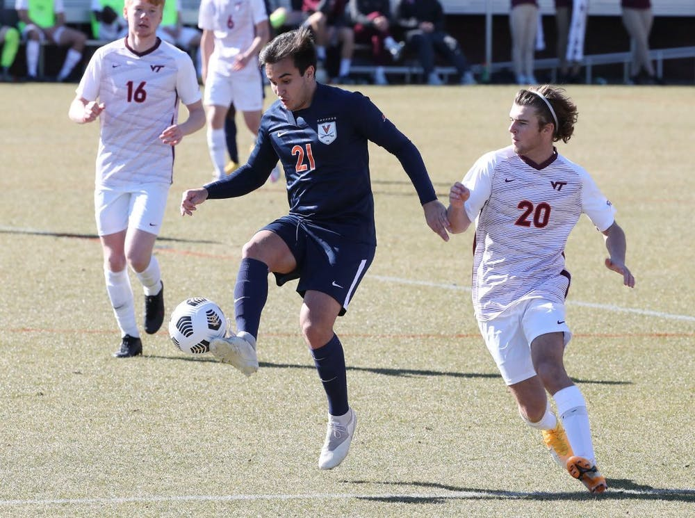<p>Friday's win over the Hokies was the Cavaliers' first home win against their in-state rivals since 2014.&nbsp;</p>