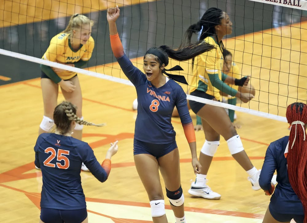 <p>Graduate middle blocker Alana Walker is already making her impact known on the team.</p>