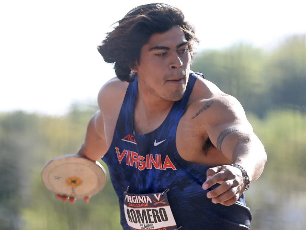 Freshman Claudio Romero was recently named the United States Track & Field and Cross Country Coaches Association Men's Field Athlete of the Year for its Southeast Region.