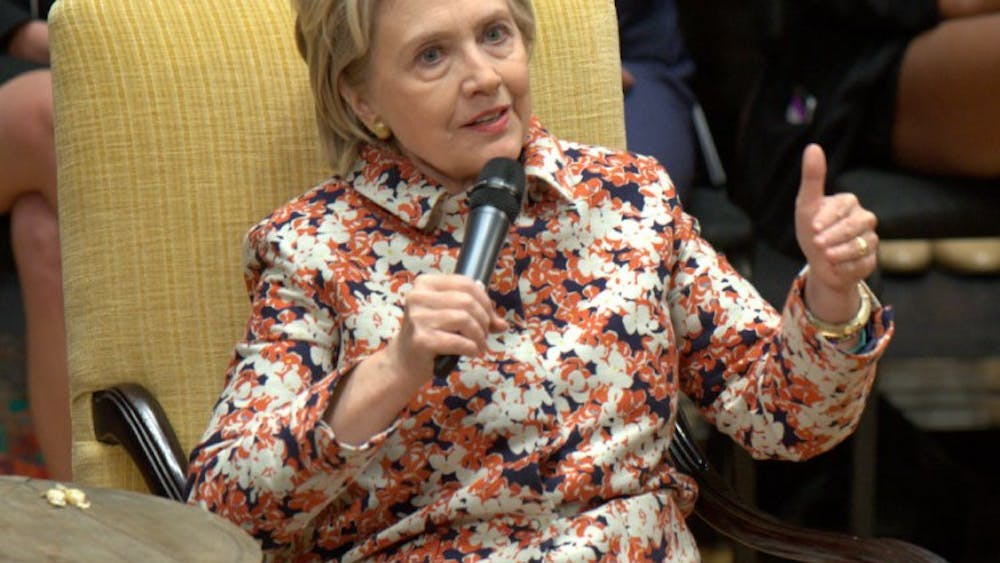 Hillary Clinton's address did not reach its full potential because the audience space was so limited.