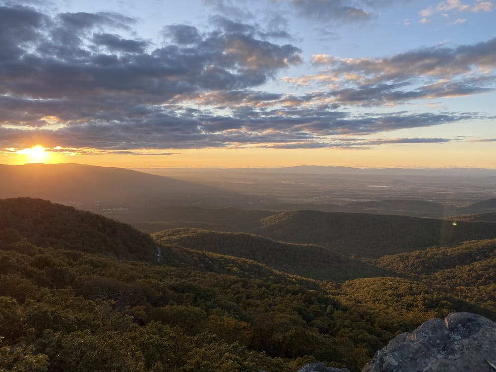 Each discussion topic relates to a different location that the class visits, some which included Ragged Mountain, Blue Ridge Tunnel, Glass Hollow Overlook, Patricia Ann Byrom Forest Preserve and Observatory Hill.