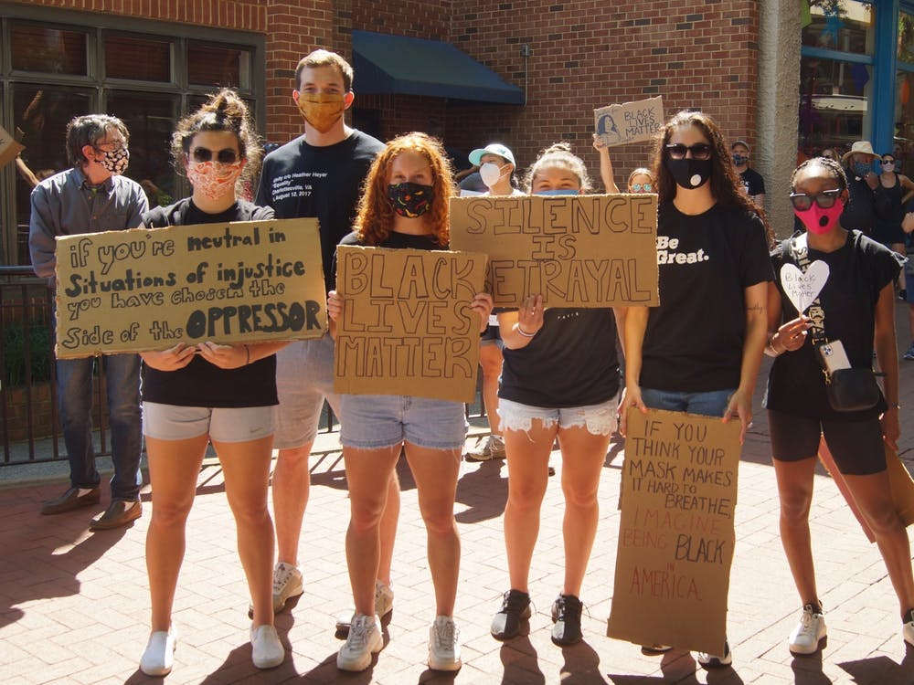 Following the murder of George Floyd, protests sprung up across the country, including one centered on Charlottesville's Downtown Mall