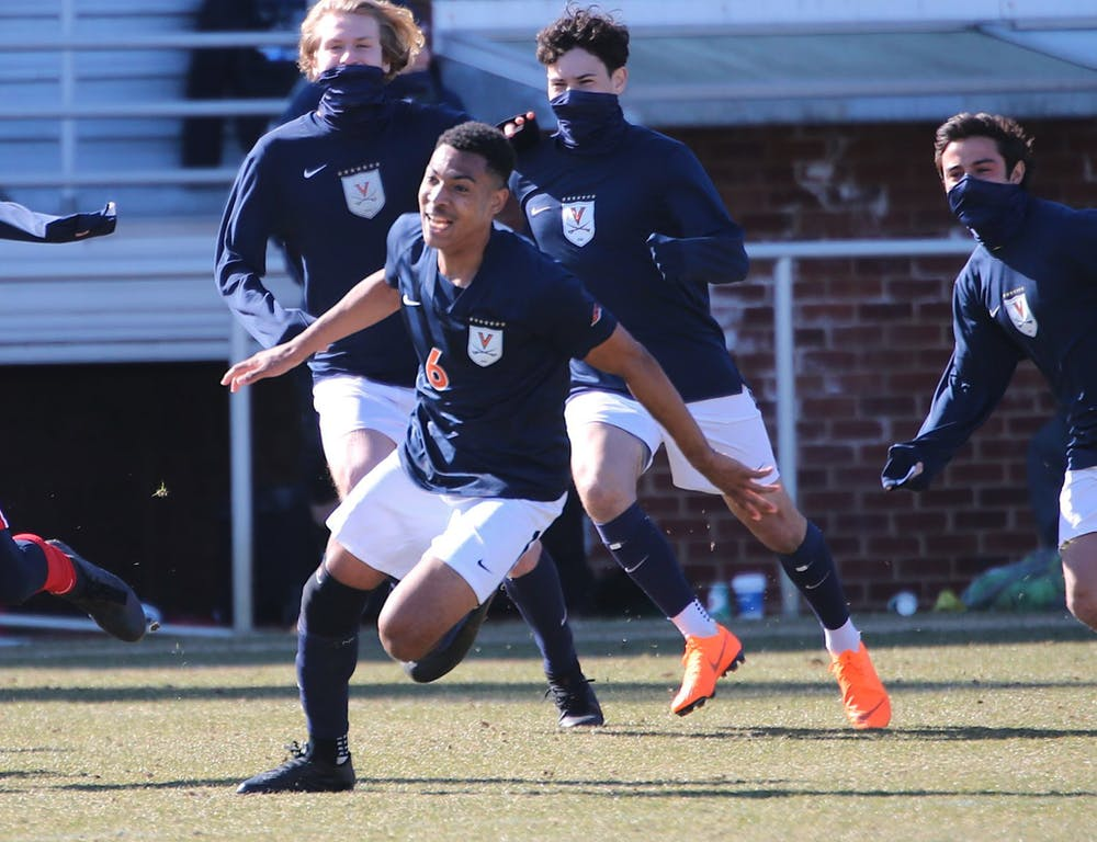 <p>Sophomore midfielder Jeremy Verley would score his first collegiate goal in this game, which ultimately won the Cavaliers the game.</p>