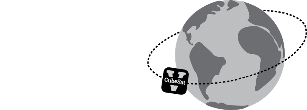 <p>The CubeSat will measure atmospheric drag as it orbits the Earth.&nbsp;</p>