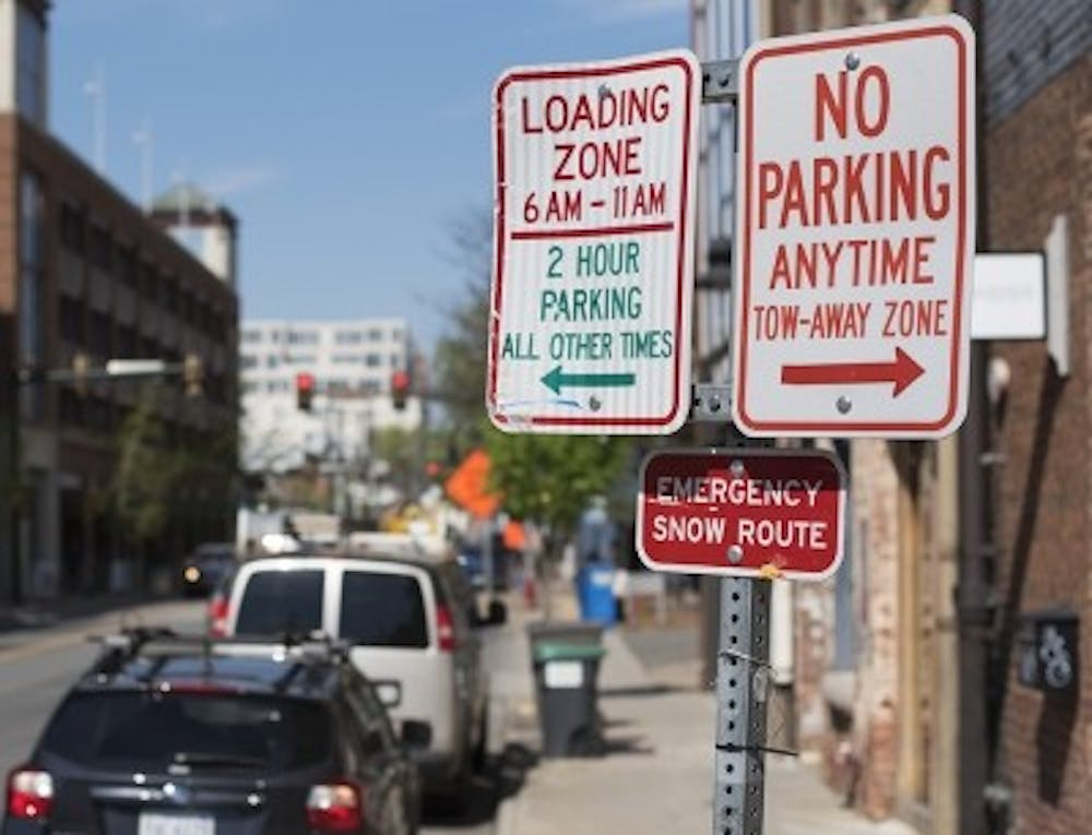 <p>The City will be testing a different system of parking around the Downtown Mall between September 5, 2017, and March 5, 2018.</p>