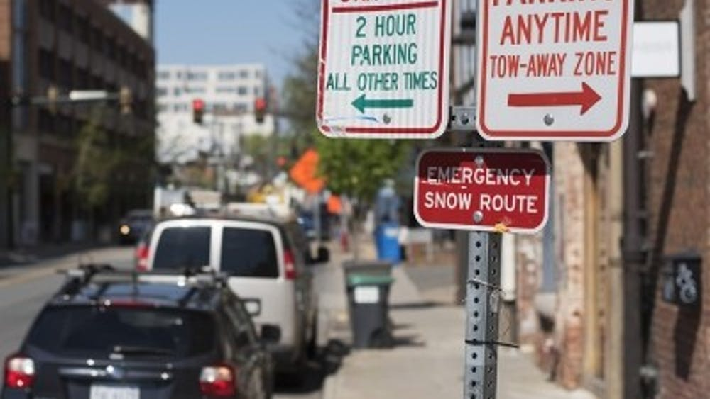 The City will be testing a different system of parking around the Downtown Mall between September 5, 2017, and March 5, 2018.