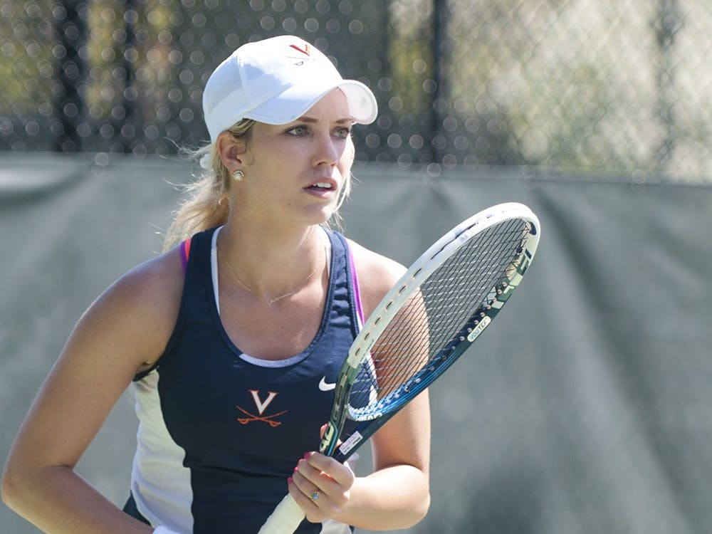 Danielle Collins had over 100 career singles wins as a Cavalier.