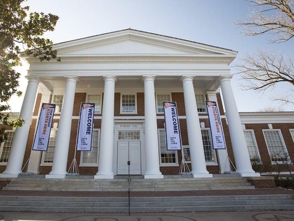 弗吉尼亚大学本科生招生办公室位于Peabody楼