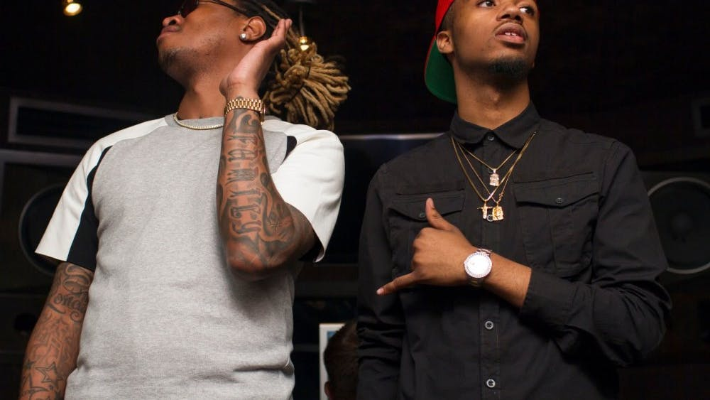 Metro Boomin (right) has used his newfound fame as a springboard onto more ambitious projects, producing for some of hip-hop's most sought-after names including Drake, Future, 21 Savage and Kanye West.