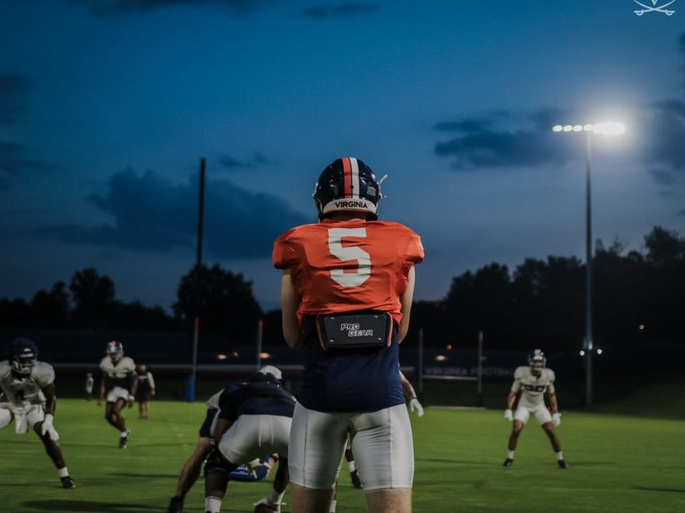 Junior quarterback Brennan Armstrong's development over the offseason will be crucial to the Cavaliers' success in 2021.