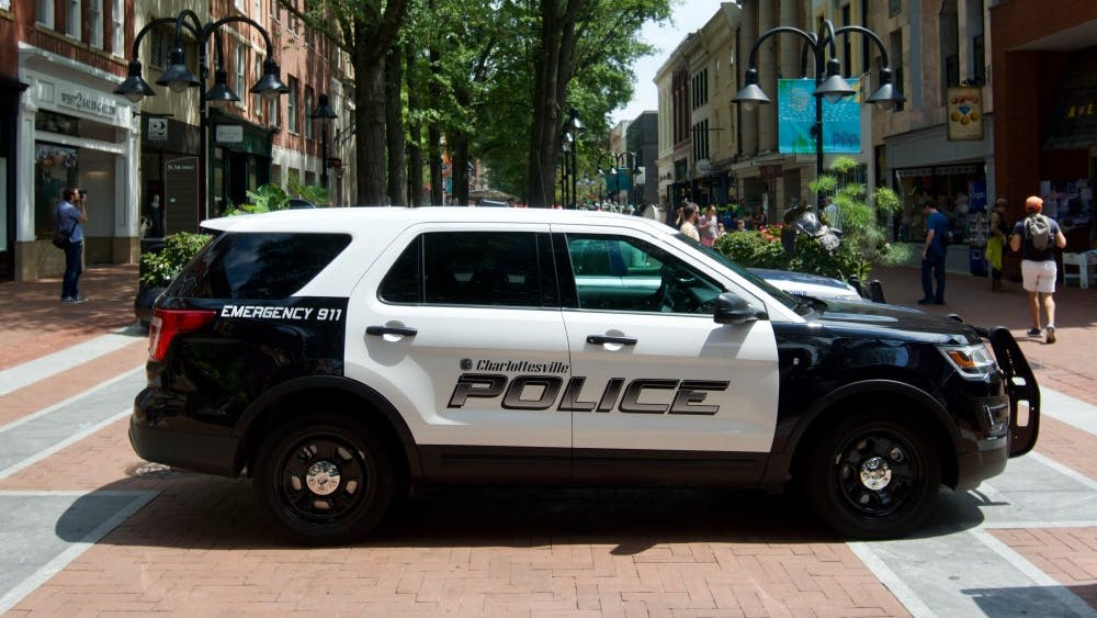 The Charlottesville Police Department said in a release that one of its officers was assaulted Saturday evening.