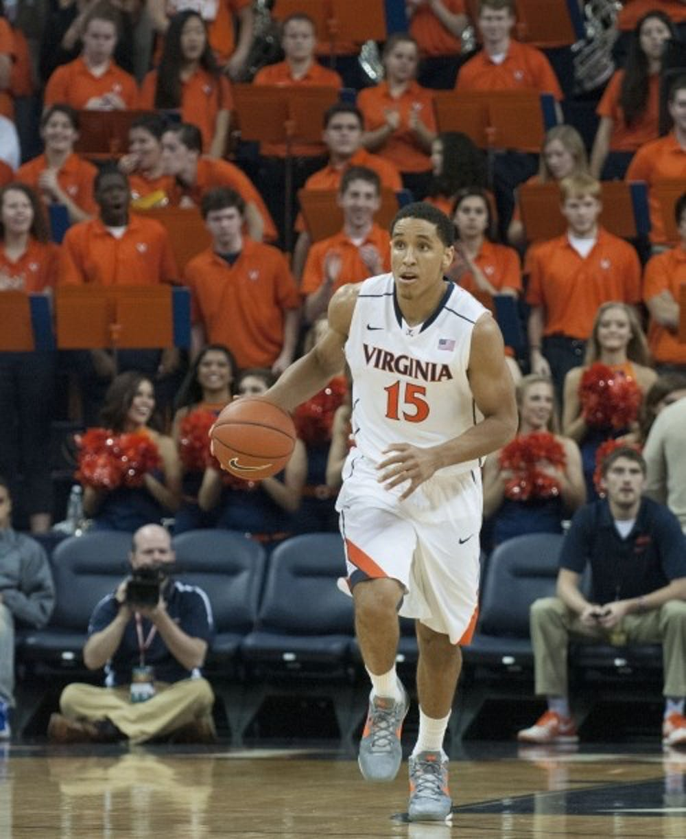 <p>Senior guard Malcolm Brogdon earned first-team All-ACC and second-team All-American honors last season, when he was the only Cavalier to start all 34 of Virginia's&nbsp;games.&nbsp;</p>