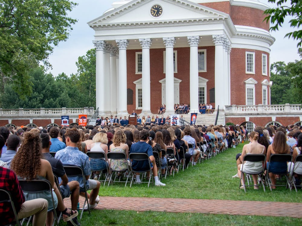 The University's target class size was 3,750, meaning that the University exceeded its goal for the first-year class by 168 students despite having to recruit potential applicants virtually for the second year in a row.