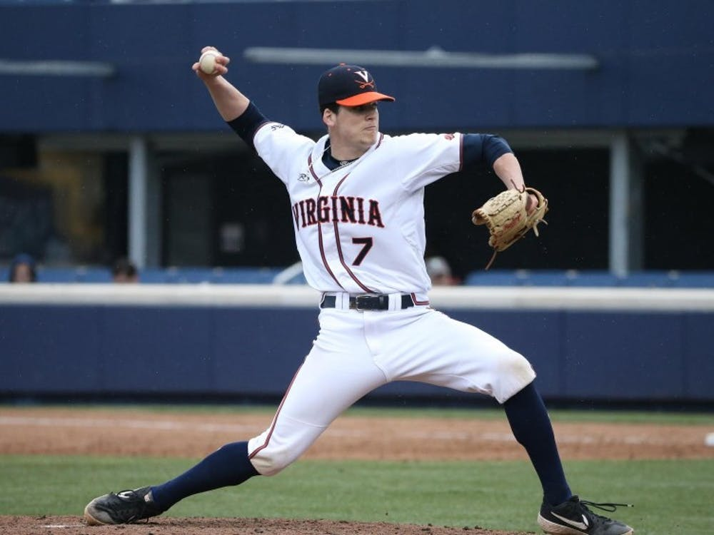 Virginia sophomore right-hander Devin Ortiz pitched a 4.1 inning no-hitter in relief.