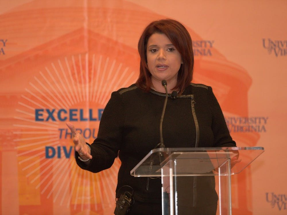 CNN analyst Ana Navarro was the fifth speaker of the Excellence Through Diversity Distinguished Learning Series.