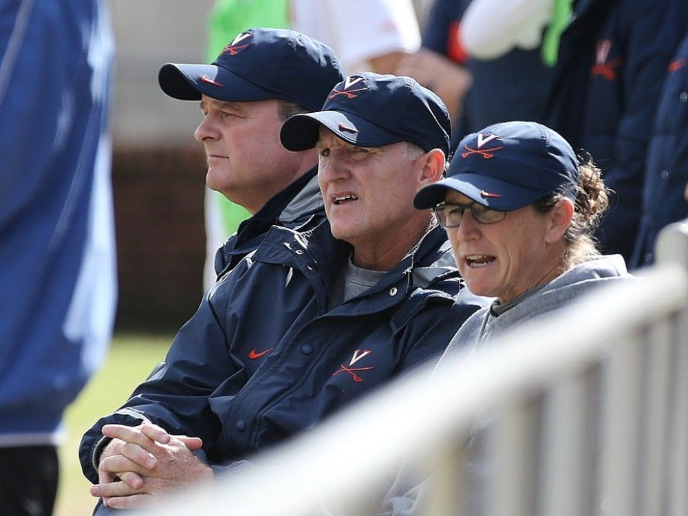 Virginia women's soccer Coach Steve Swanson is currently serving as an assistant coach for the USWNT in France.