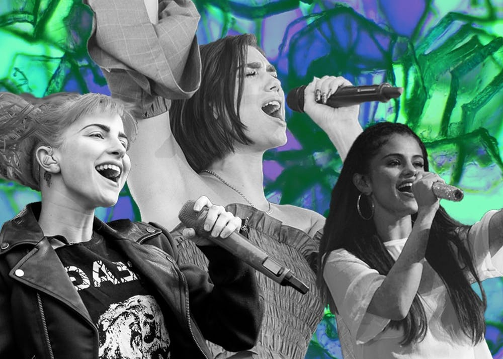 Artists like Dua Lipa, Selena Gomez and Hayley Williams have taken different tacts on whether to release music during the COVID-19 outbreak.