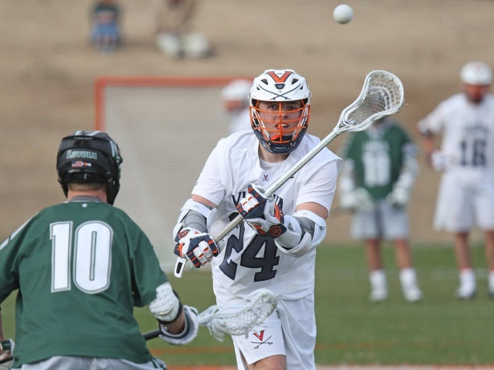 Redshirt freshman Payton Cormier made his long-awaited Virginia debut against Loyola, netting a hat-trick.