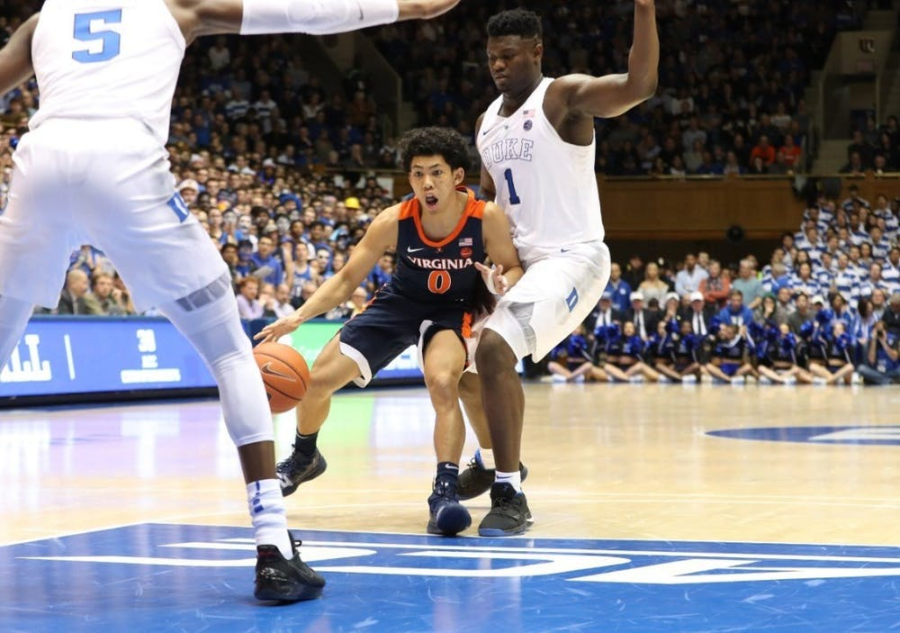 <p>Sophomore guard Kihei Clark and the Cavaliers look to down Duke for the first time at home since 2013.&nbsp;</p>