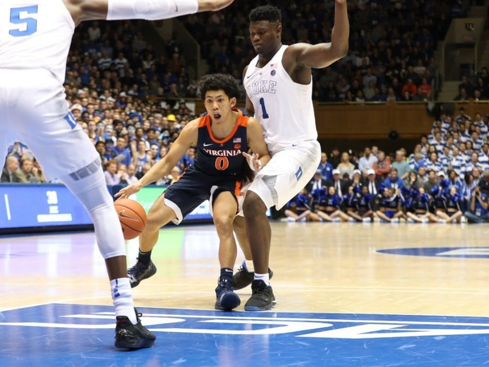 Sophomore guard Kihei Clark and the Cavaliers look to down Duke for the first time at home since 2013.
