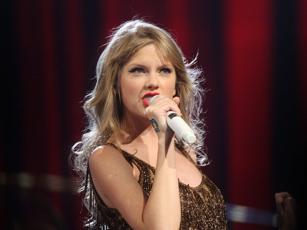 "Taylor Swift performing for her ""Speak Now World Tour"" concert in Sydney, Australia"
