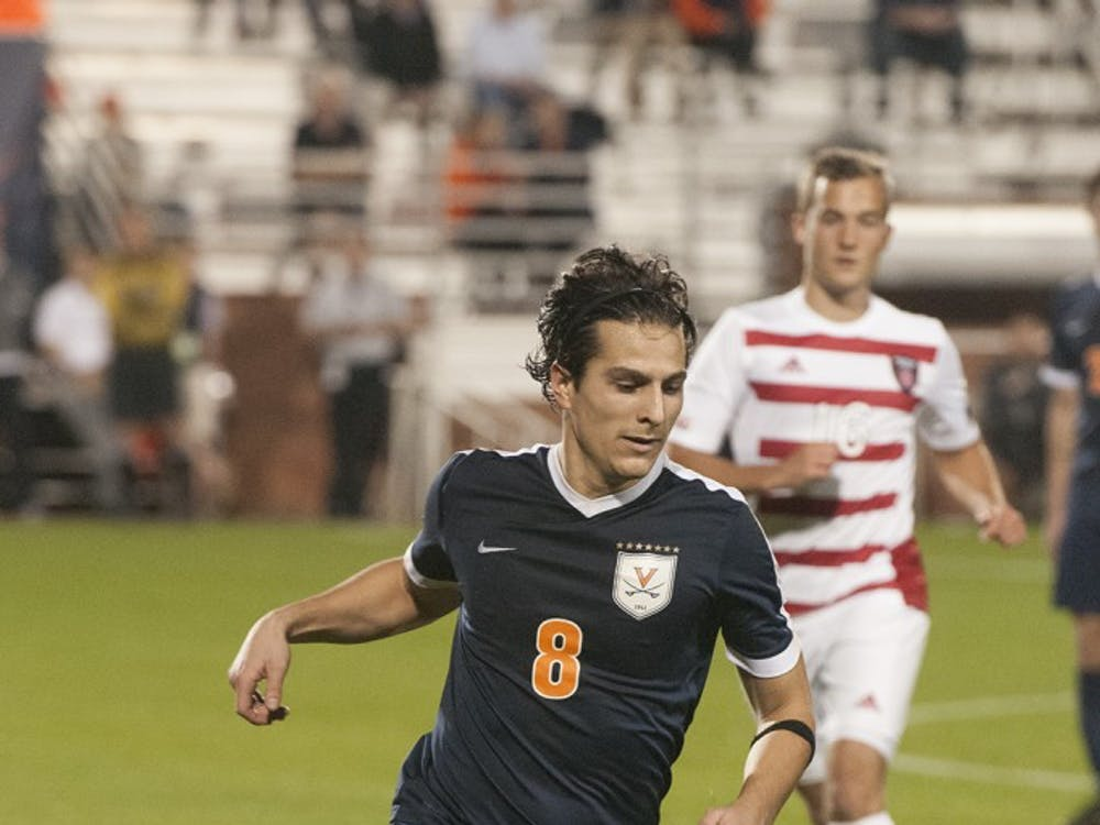 Junior midfielder Pablo Aguilar's game-winning golden goal in double overtime to beat Vermont went viral, highlighting a thrilling fall semester for Virginia sports.