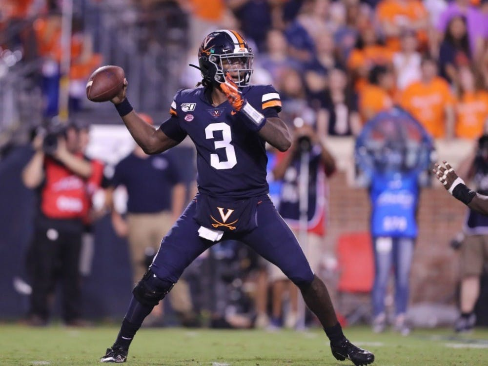 <p>Senior quarterback Bryce Perkins has been explosive as ever in 2019.</p>
