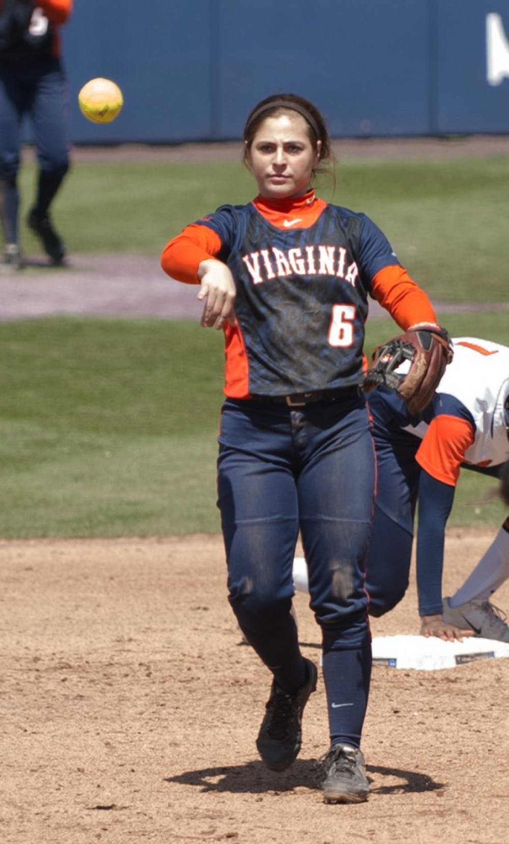 <p>Freshman shortstop Allie Arneson hit a solo homerun in Virginia's opening win Saturday. The Cavaliers lost the next two games against Syracuse to drop the series.</p>