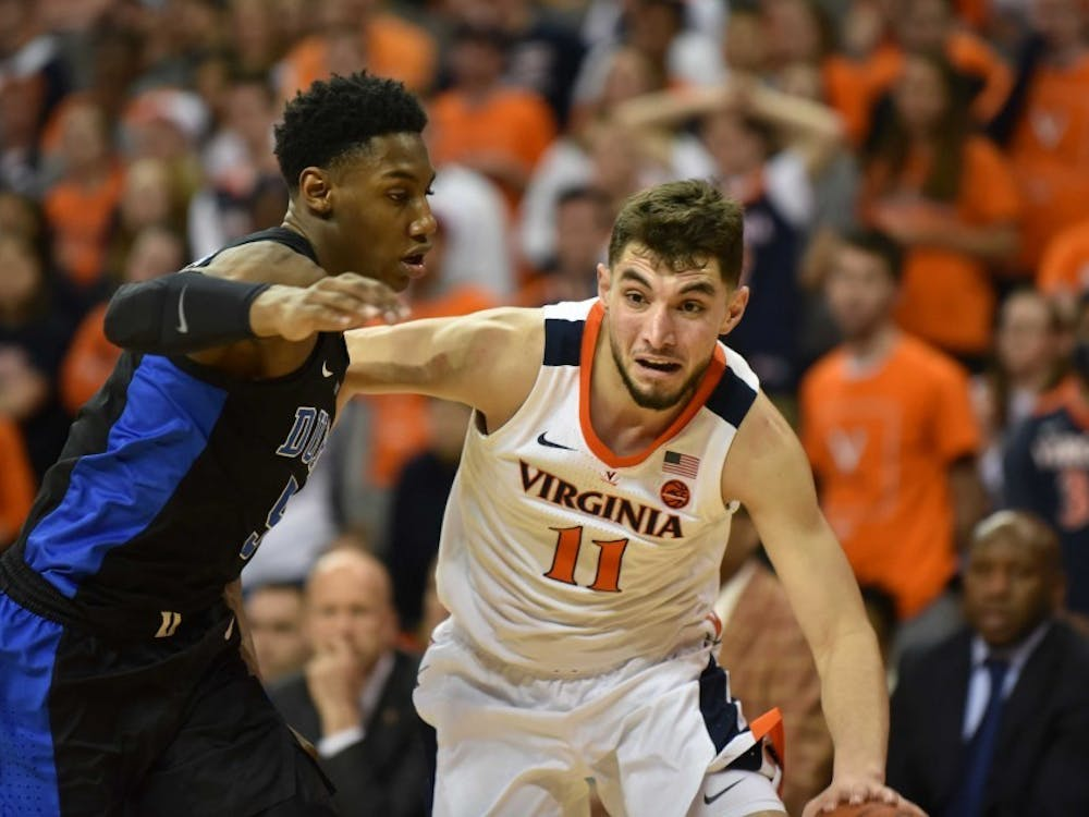 Virginia junior guard Ty Jerome is a critical part of the Cavaliers' offense.