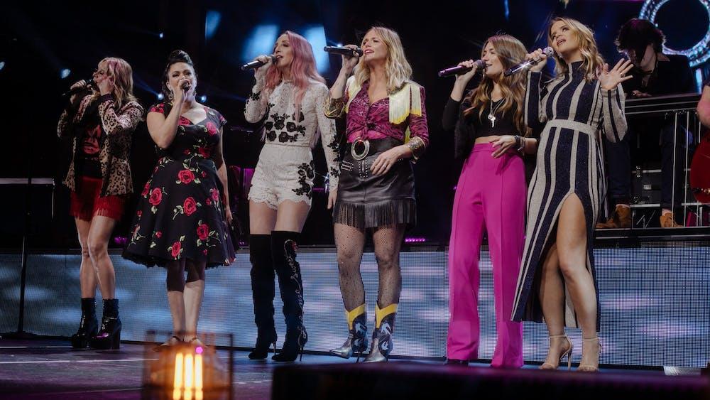 Miranda Lambert headlined a show featuring Maren Morris, Pistol Annies and Tenille Townes at JPJ on Nov. 7